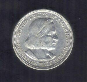 1893 USA COLUMBIAN EXPO COMMERATIVE 900 SILVER HALF DOLLAR COIN