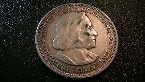 1892 COLUMBIAN EXPOSITION CHRISTOPHER COLUMBUS COMMEMORATIVE HALF DOLLAR COIN