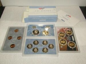 2009 US MINT PROOF SET 18 COINS BOX & COA IN PRISTINE CONDITION ORIGINAL OWNER