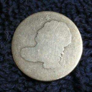 BUST DIME DATELESS SMALL DIAMETER