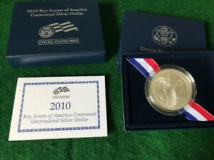 2010 SILVER BOY SCOUTS OF AMERICA  T