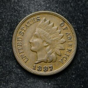 1887 INDIAN HEAD CENT XF   BB5119