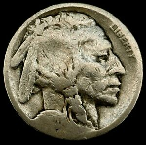 1920 S 5C BUFFALO NICKEL 20SR0919 70 CENTS SHIPPING