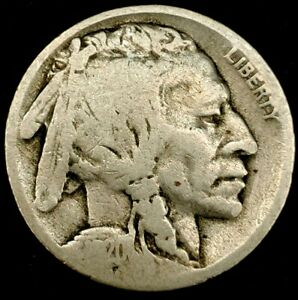 1920 S 5C BUFFALO NICKEL 20LST0919 70 CENTS SHIPPING