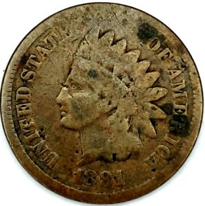 1881 P 1C INDIAN HEAD CENT 20LUA0207 70 CENTS SHIPPING