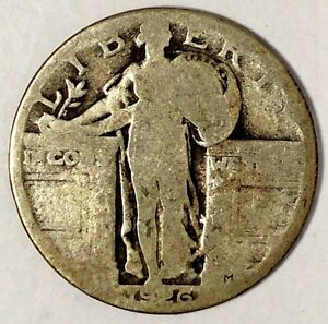 1926 P 25C STANDING LIBERTY QUARTER 90  SILVER 18UCL1802 70 CENTS SHIPPING