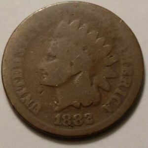 1882 INDIAN HEAD CENT 9789