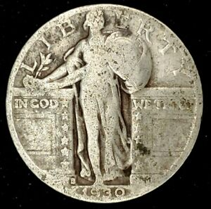 1930 S 25C STANDING LIBERTY QUARTER 90  SILVER 20UWC0404 70 CENTS SHIPPING