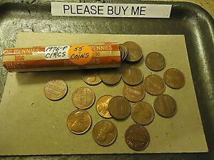1976 P LINCOLN CENT ROLL            C/S & H AVAILABLE