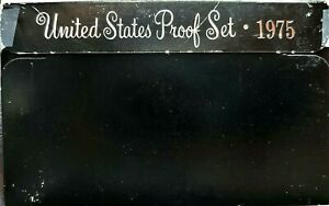 1975 S US PROOF MINT SET 6 COINS CLAD 20SOC0224