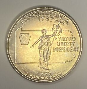 Click now to see the BUY IT NOW Price! 50 STATES QUARTER PENNSYLVANIA MISSING WEIGHT 5.56 GRAMS WITH MANGANESE