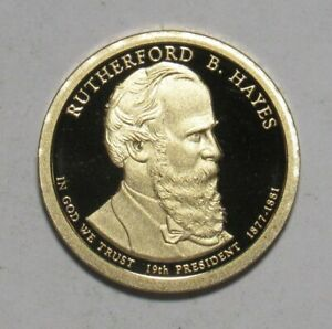 2011 S PROOF RUTHERFORD B HAYES PRESIDENTIAL DOLLAR