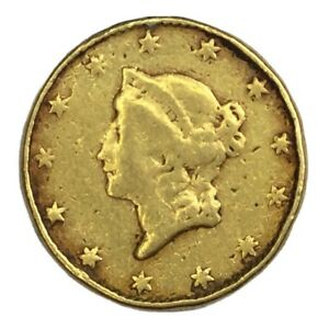NO DATE $1 TYPE 1 GOLD LIBERTY EX JEWELRY