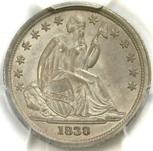 Click now to see the BUY IT NOW Price! PCGS MS63 NO DRAPERY LARGE STARS 1838 SEATED DIME