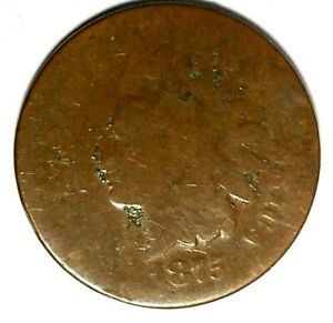 1875 P 1C INDIAN HEAD CENT 18STU0901 70 CENTS SHIPPING