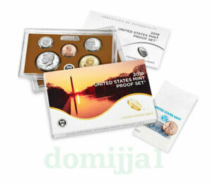 2019 S US MINT PROOF COIN SET INCLUDING