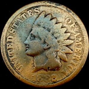 1882 P 1C INDIAN HEAD CENT 20RR0823 70 CENTS SHIPPING