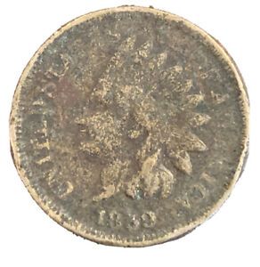 1859 INDIAN HEAD CENT P 35