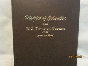 COMPLETE SET OF DC AND US TERRITORIAL QUARTERS INCLUDING PROOFS IN DANSCO ALBUM