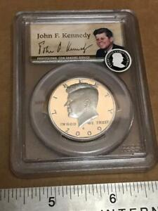 Click now to see the BUY IT NOW Price! 2009 S US 50TH ANNIVERSARY  KENNEDY 50 CENT SILVER HALF DOLLAR PCGS PR69DCAM