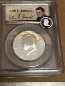 Click now to see the BUY IT NOW Price! 2007 S US 50TH ANNIVERSARY  KENNEDY 50 CENT SILVER HALF DOLLAR PCGS PR69DCAM