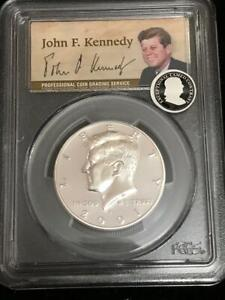 Click now to see the BUY IT NOW Price! 2001 S KENNEDY SILVER HALF DOLLAR PROOF PCGS PR69DCAM