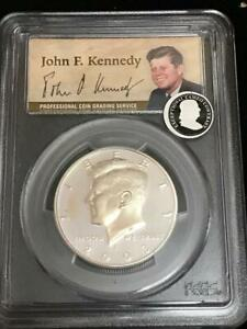 Click now to see the BUY IT NOW Price! 2003 S KENNEDY SILVER HALF DOLLAR PROOF PCGS PR69DCAM
