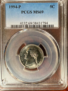 Click now to see the BUY IT NOW Price! 1994 P JEFFERSON NICKEL MS 69