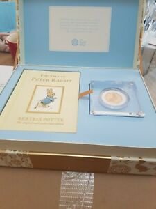 Click now to see the BUY IT NOW Price! PETER RABBIT 22CT GOLD  COIN AND BOOK SET 2017 NEW BOXED LIMITED EDITION