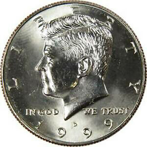 1999 D KENNEDY HALF DOLLARS COIN RETAILS FOR: $29.99