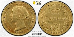 Click now to see the BUY IT NOW Price! AUSTRALIA 1860 SYDNEY HALF SOVEREIGN PCGS XF45