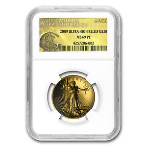 Click now to see the BUY IT NOW Price! 2009 ULTRA HIGH RELIEF DOUBLE EAGLE MS 69 PL NGC  GOLD LABEL    SKU 57925