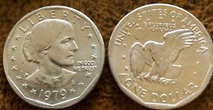 1979 D SUSAN B ANTHONY LIBERTY ONE DOLLAR COIN