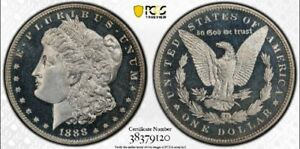 Click now to see the BUY IT NOW Price! 1888 $1 PCGS PR 66DCAM MORGAN DOLLAR . POP 1/1^  B&W DCAM  RARITY 9.9