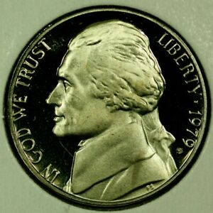 1979 S 5C JEFFERSON NICKEL GDC PROOF 20RR0722 70 CENTS SHIPPING