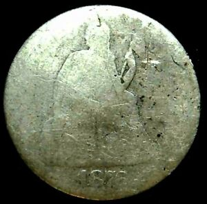 1876 P 10C SEATED LIBERTY DIME 90  SILVER 21OUT0122 70 CENTS SHIPPING