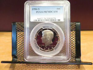 Click now to see the BUY IT NOW Price! 1986 S KENNEDY HALF DOLLAR PCGS PR70DCAM SKCK0040