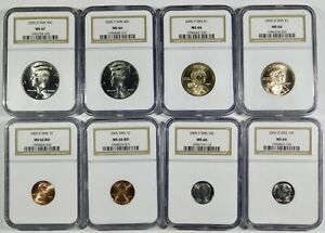 Click now to see the BUY IT NOW Price! 2005 COMPLETE P&D SMS MINT SET 22 COINS