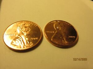 [ 2 ] 2009 P UNC. PENNIES [ FORMATIVE YEARS ] HARD TO FIND.