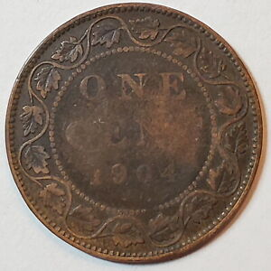 1904 CANADA 1 ONE CENT LARGE PENNY   COMBINED SHIPPING   C1 161