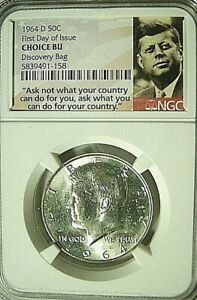 Click now to see the BUY IT NOW Price! 1964D  KENNEDY FDOI ONE OF 2000 A MUST FOR ALL GREAT KENNEDY COLLECTIONS