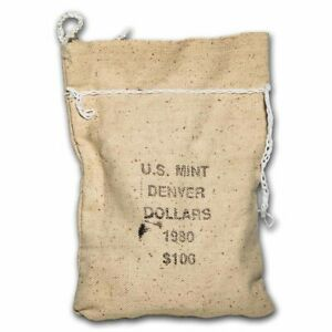 Click now to see the BUY IT NOW Price! 1980 D SBA 100 COIN SEALED BAG BU   SKU36249