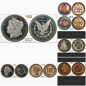 Click now to see the BUY IT NOW Price! 1888 1 ALL TIME PCGS U.S. PROOF REGISTRY SET W/O GOLD. THE
