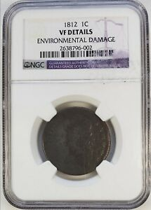 1812 CLASSIC HEAD CENT NGC VF DETAILS
