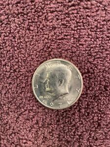 1971 D KENNEDY HALF DOLLAR IN UNCIRCULATED CONDITION