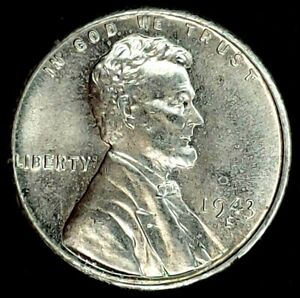1943 S 1C LINCOLN WHEAT CENT BU STEEL 19OCT1123 70 CENTS SHIPPING