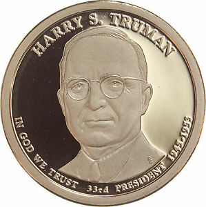 2015 S PRESIDENTIAL DOLLAR HARRY TRUMANGDC PROOF 70 CENTS SHIPPING