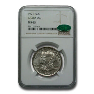Click now to see the BUY IT NOW Price! 1921 ALABAMA CENTENNIAL COMMEMORATIVE HALF DOLLAR MS 65 NGC CAC   SKU235978