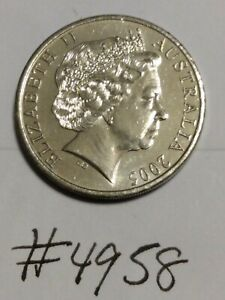 2005 AUSTRALIA 20 CENTS COIN   EXCELLENT CONDITION AND LUSTER