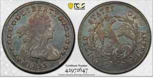 1795 SMALL EAGLE BUST DOLLAR ATTRACTIVE  PCGS HOLDERED..